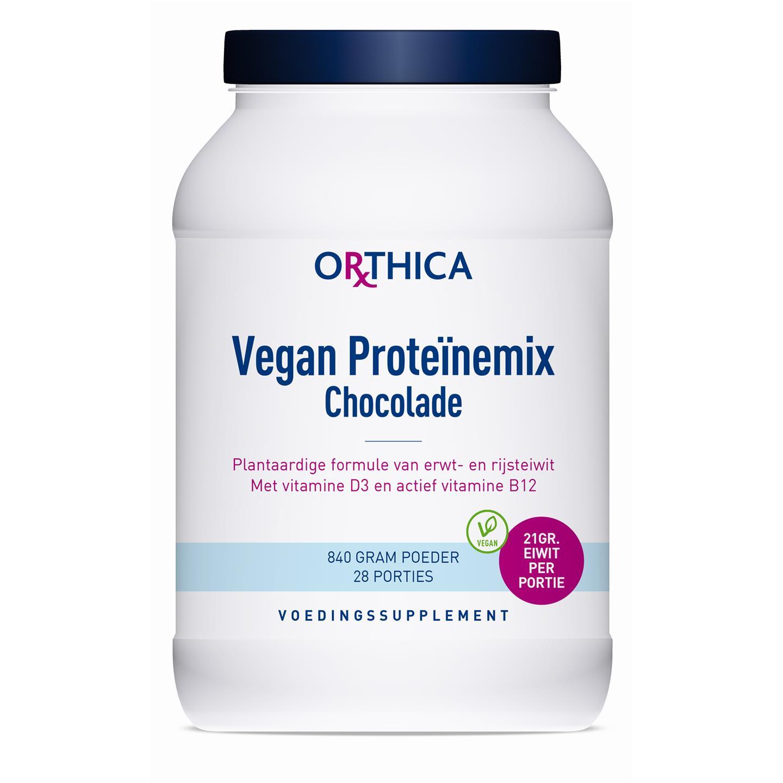 Vegan Proteïnemix Chocolade