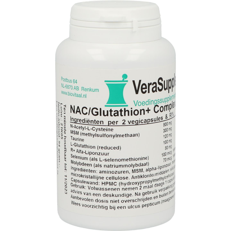 NAC/Glutathion+ complex