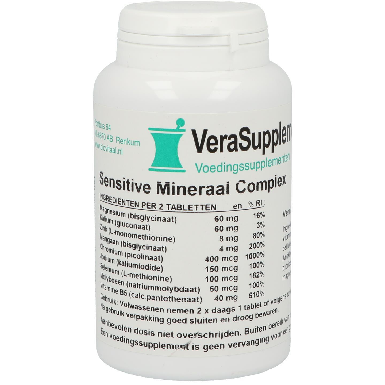 Sensitive Mineraal complex