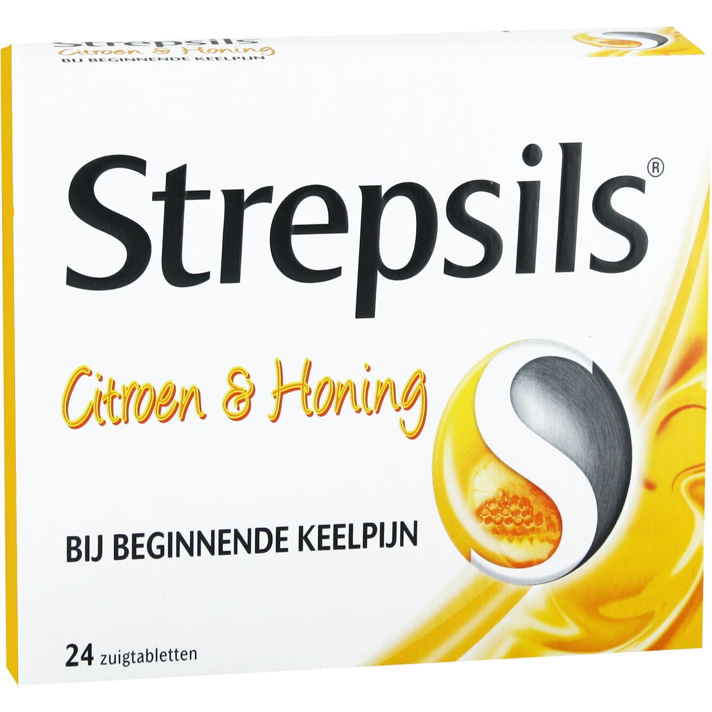 Strepsils Citroen & Honing