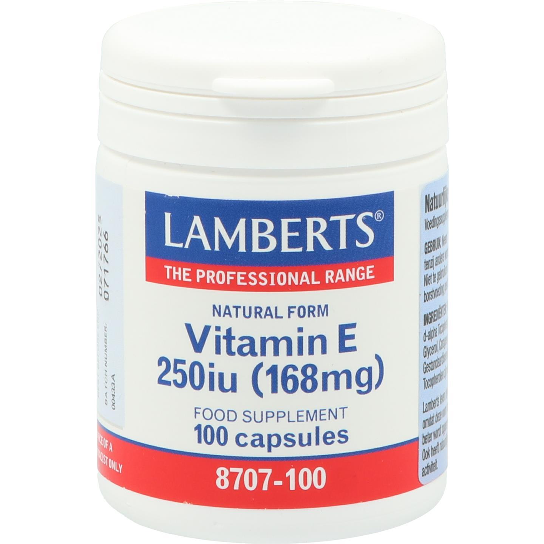 Vitamine E 250 IE