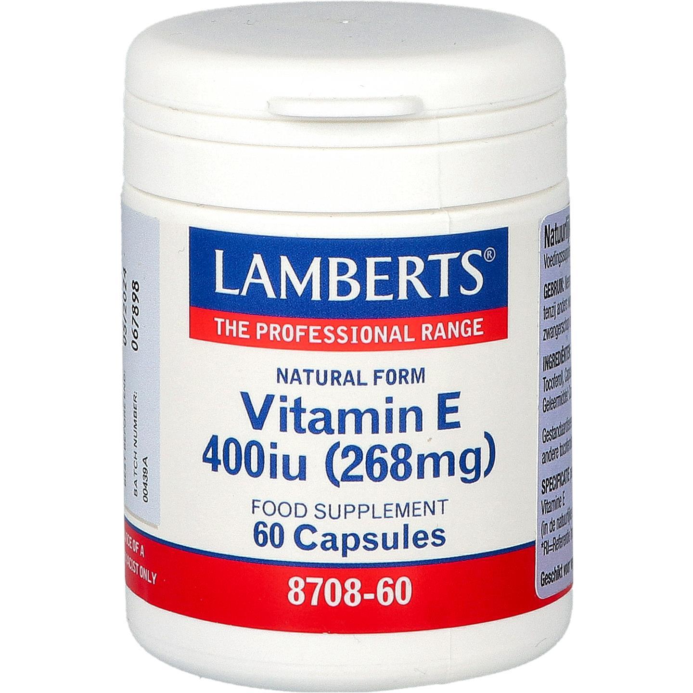 Natuurlijke Vitamine E 400 IE
