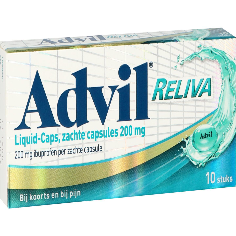 Advil Reliva Liquid-Caps 200