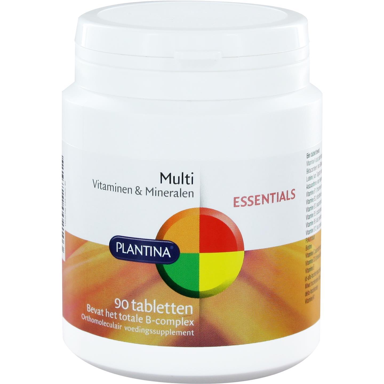 Multi vitaminen & mineralen