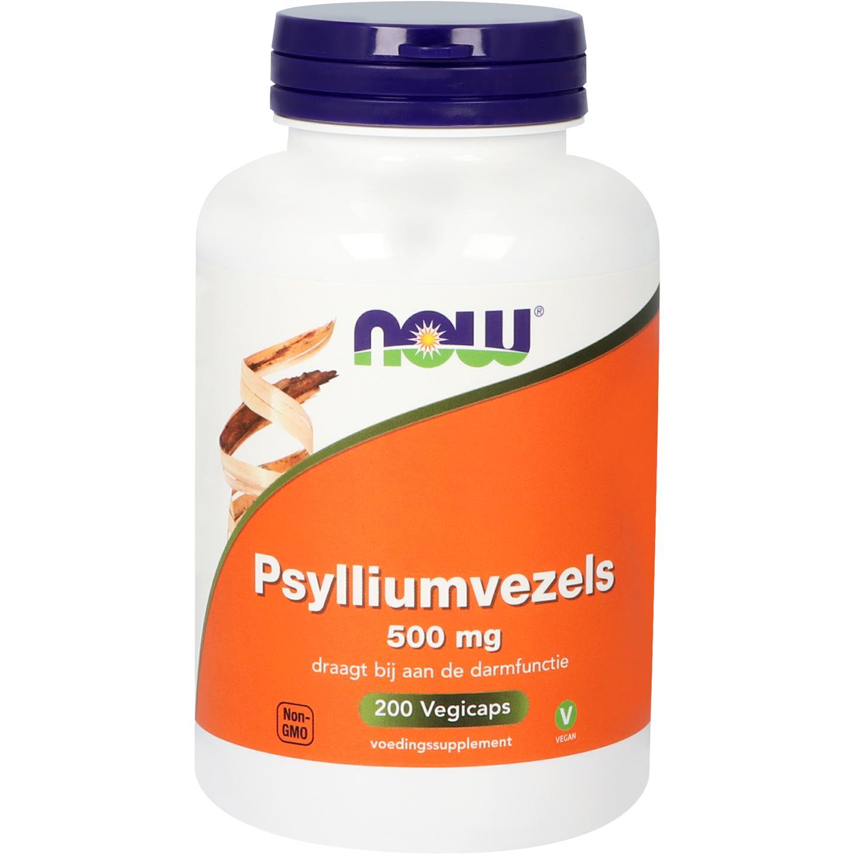 Now Psyllium Husk Caps 500mg 200caps