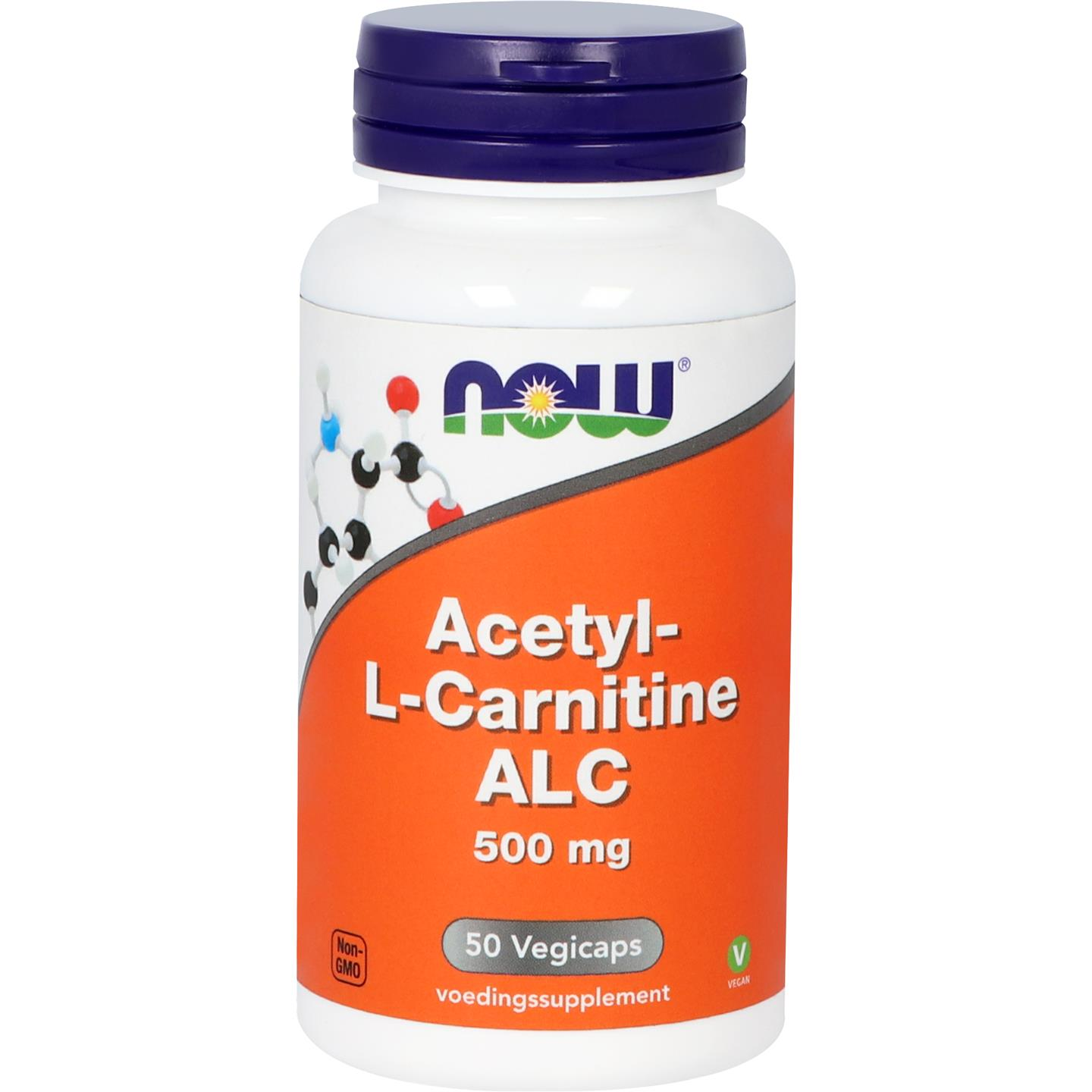 NOW Acetyl L carnitine 500mg 50caps