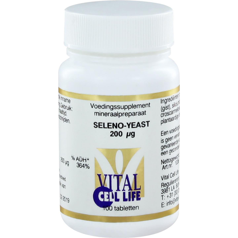 Seleno-yeast 200 mcg