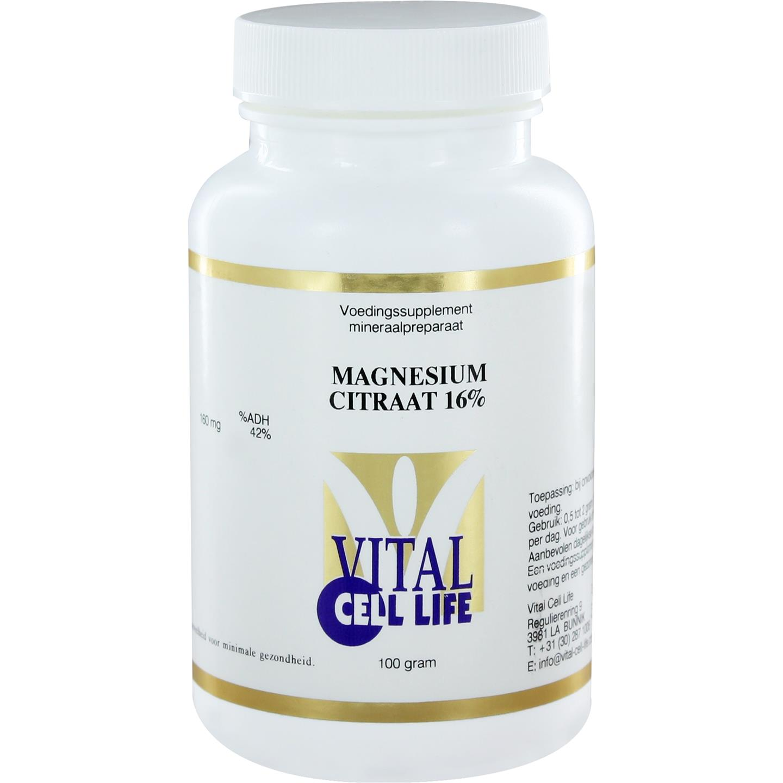 Magnesium Citraat 16%