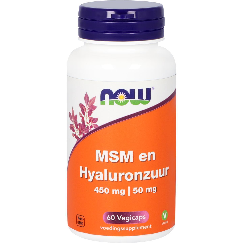 MSM en Hyaluronzuur