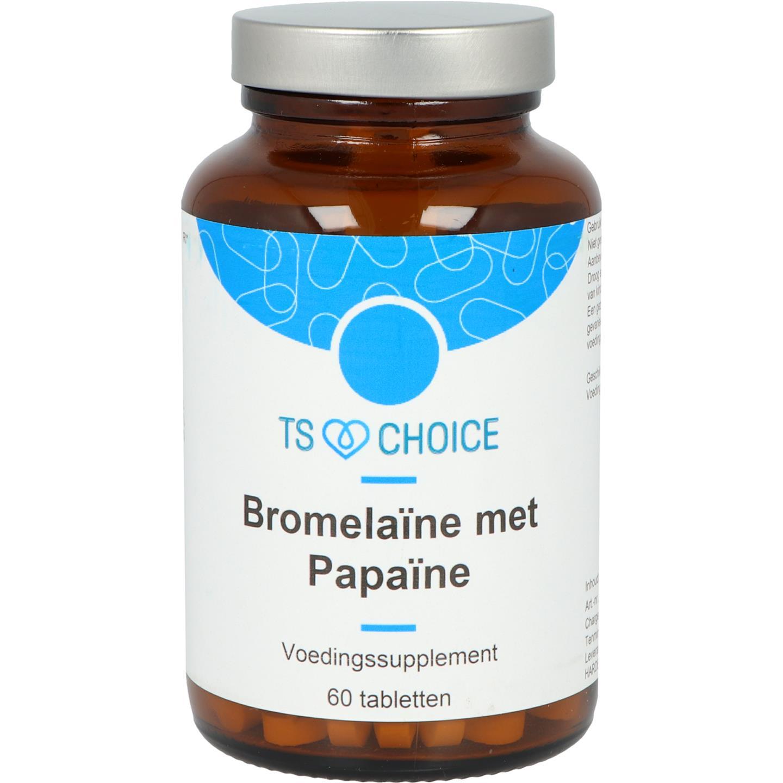 Bromelaïne met Papaïne