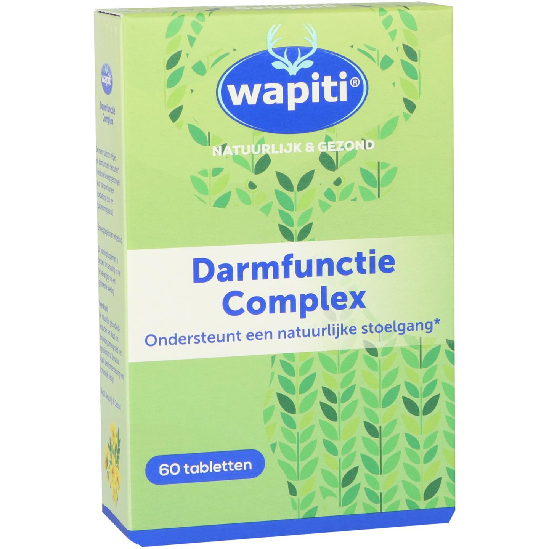 Wapiti darmfunctie complex(60 drag)
