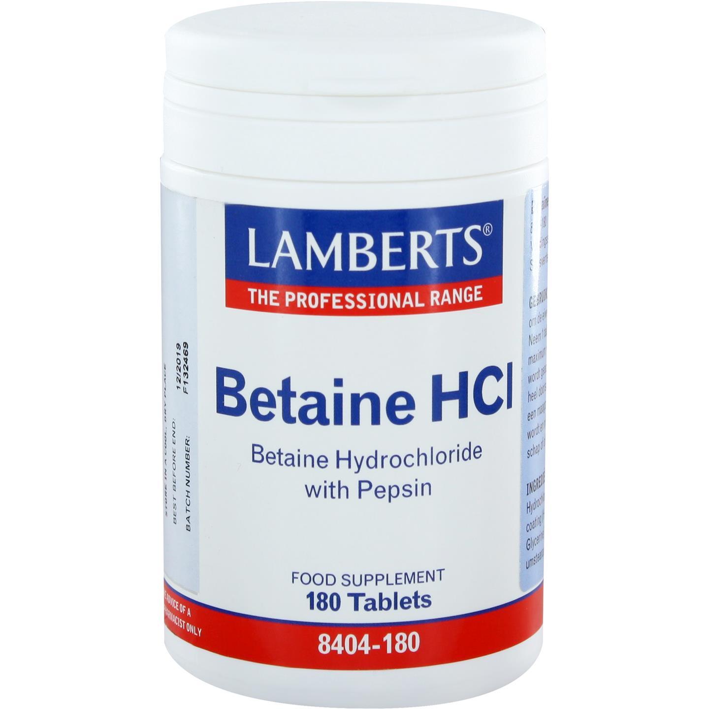 Betaïne HCl met Pepsine