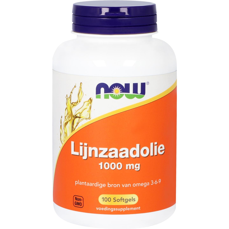 Lijnzaadolie 1000 mg