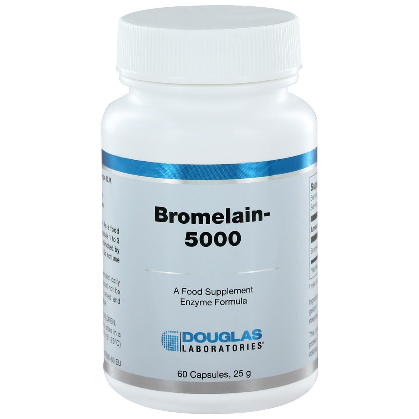 Douglas laboratories bromelain 5000(60 caps)