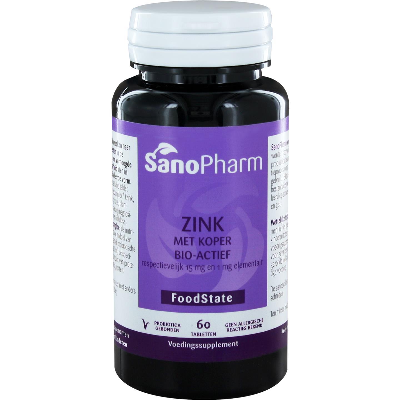Zink 15 mg & koper 1 mg