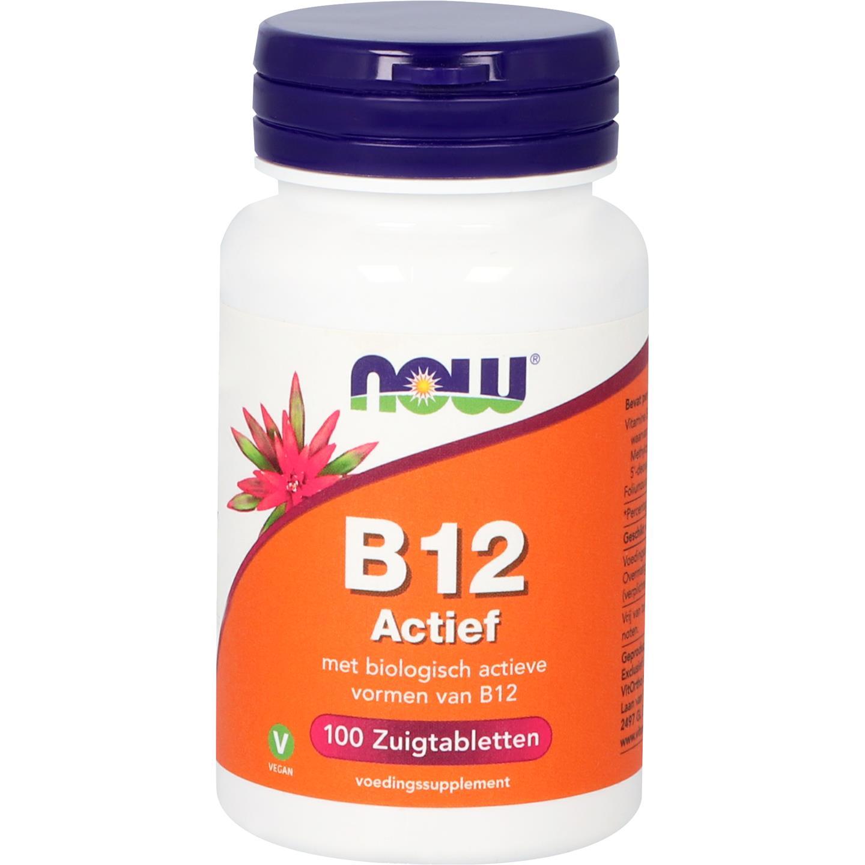 Now Vitamine B-12 Actief 100tabl