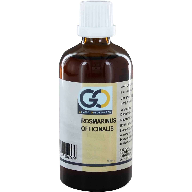 GO Rosmarinus officinalis