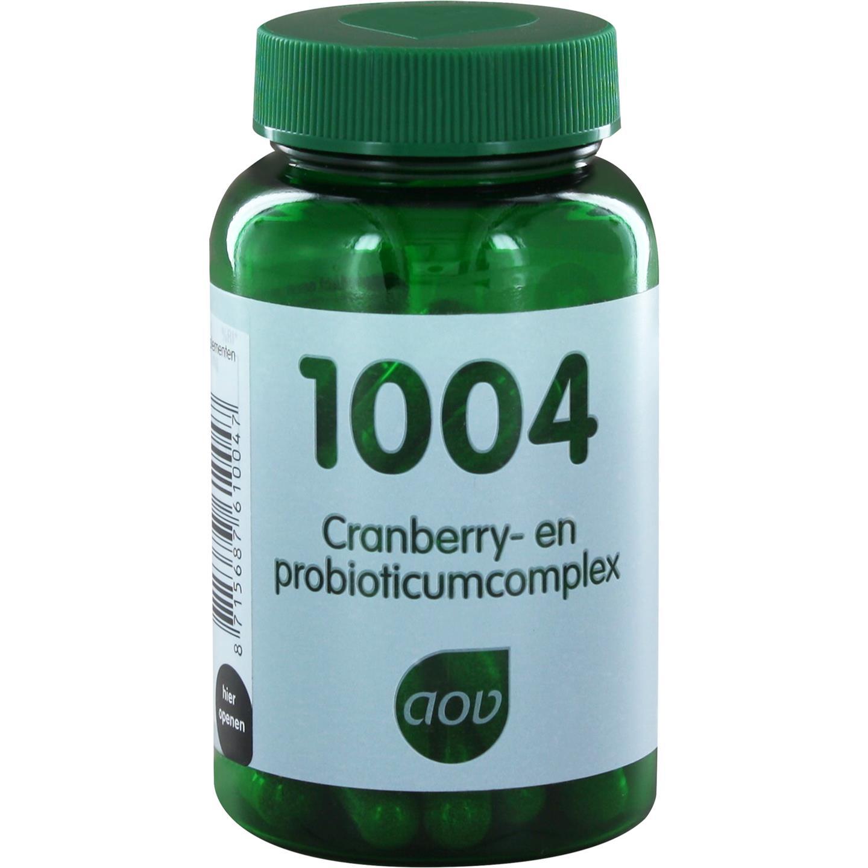 Foto van 1004 Cranberry- en probioticumcomplex