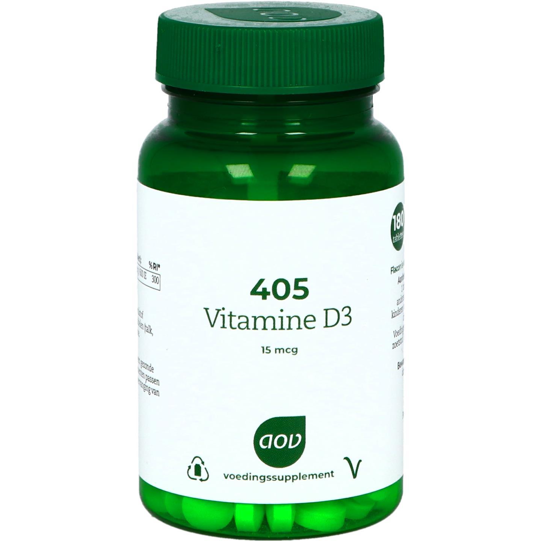 405 Vitamine D3 15 mcg