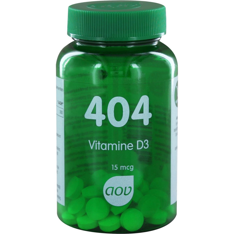 404 Vitamine D3 15 mcg