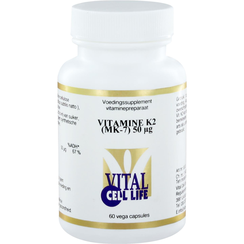 Vitamine K2 (MK-7) 50 mcg