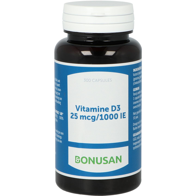 Vitamine D3 25 mcg - 1000 IE