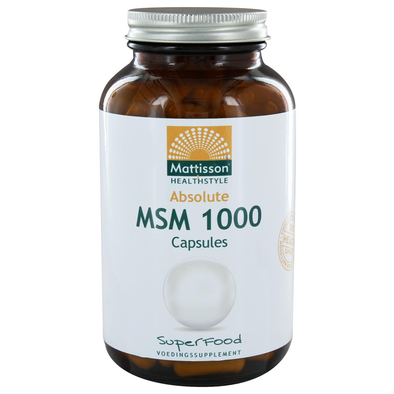 Absolute MSM 1000 mg