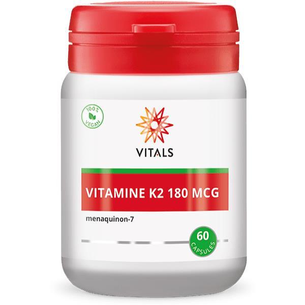 Vitamine K2 180 mcg MK-7
