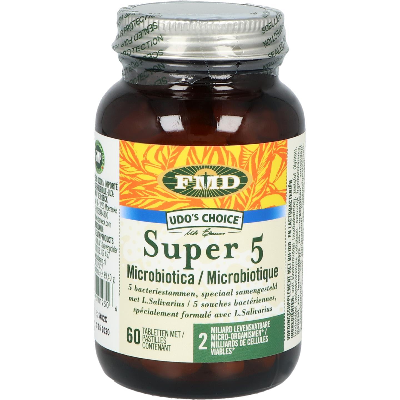 Udo Choice Probiot Super 5 60tb