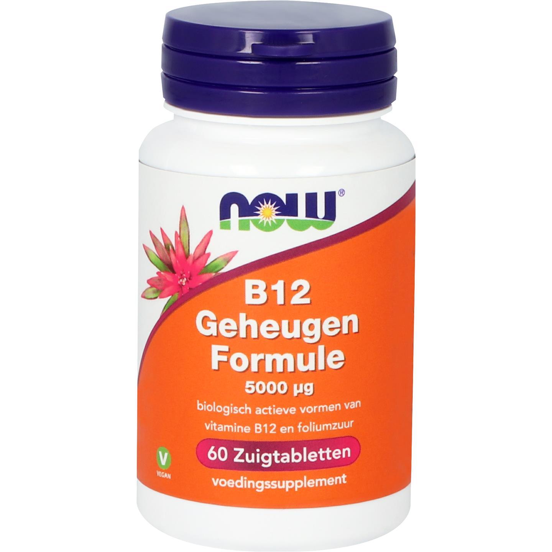 Vitamine B12 geheugenformule 5000 mcg