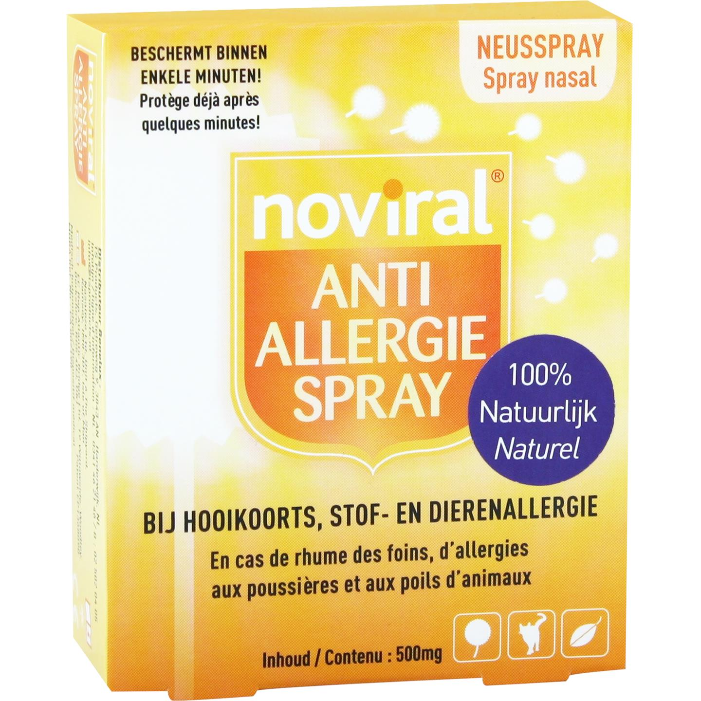 Noviral Anti Allergie Spray 500mg