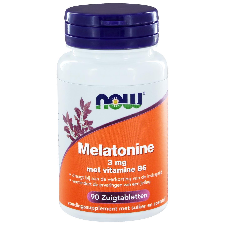 Melatonine 3 mg met vitamine B6