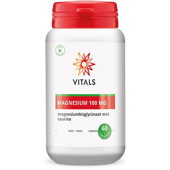 Magnesiumbisglycinaat 100 mg