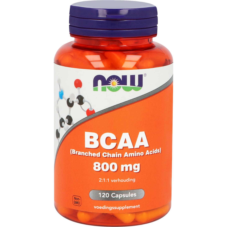 Now Bcaa 800 Mg
