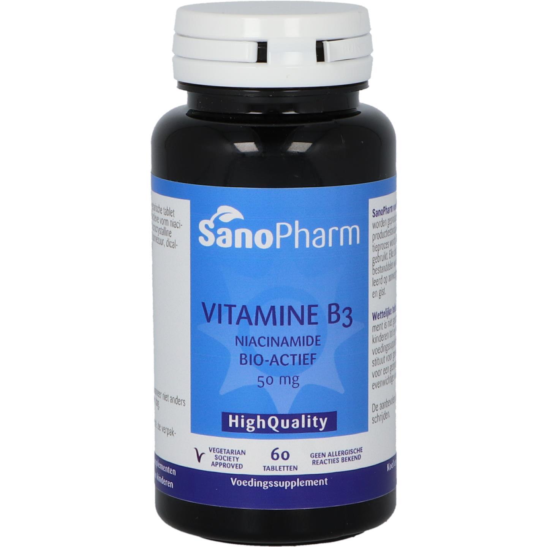 Vitamine B3 (Niacinamide) 50 mg