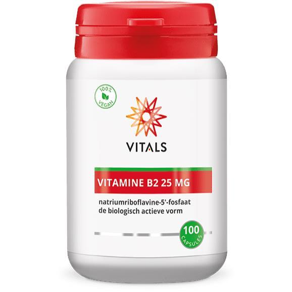 Vitamine B2 25 mg