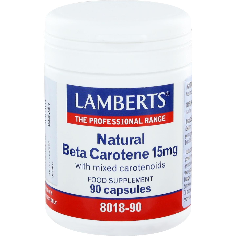 Natuurlijke Bètacaroteen 15 mg