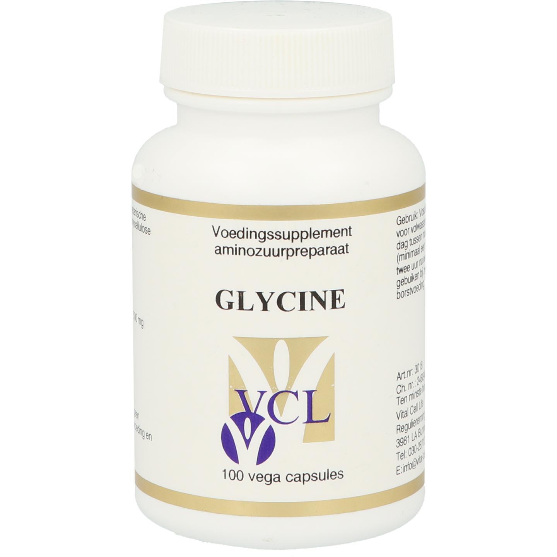 Vital Cell Life Glycine 500mg 100cap
