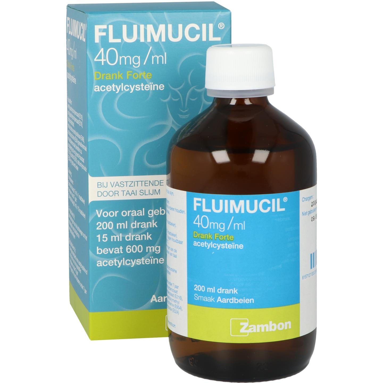 Fluimucil Drank Forte